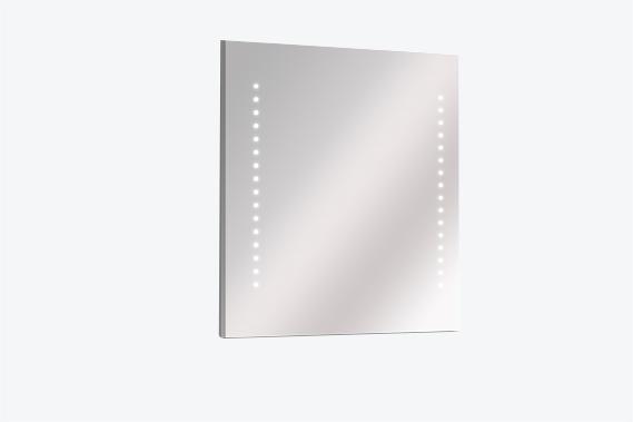 Miroir salle de bain lumineux avec leds ou sans clairage for Armoire de toilette miroir lumineux