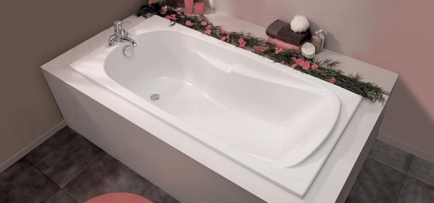baignoire rectangulaire orane rectangulaire aquarine pro. Black Bedroom Furniture Sets. Home Design Ideas