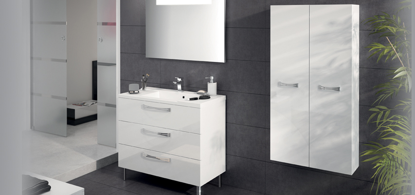 meuble de salle de bain poser brooklyn a poser aquarine pro. Black Bedroom Furniture Sets. Home Design Ideas