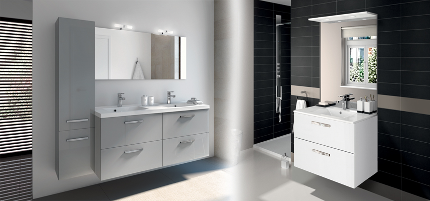 meuble de salle de bain prefixe code tiroirs a suspendre aquarine pro. Black Bedroom Furniture Sets. Home Design Ideas