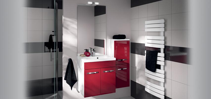 Meuble de salle de bain prefixe portes aquarine pro for Meuble salle de bain 120 cm portes