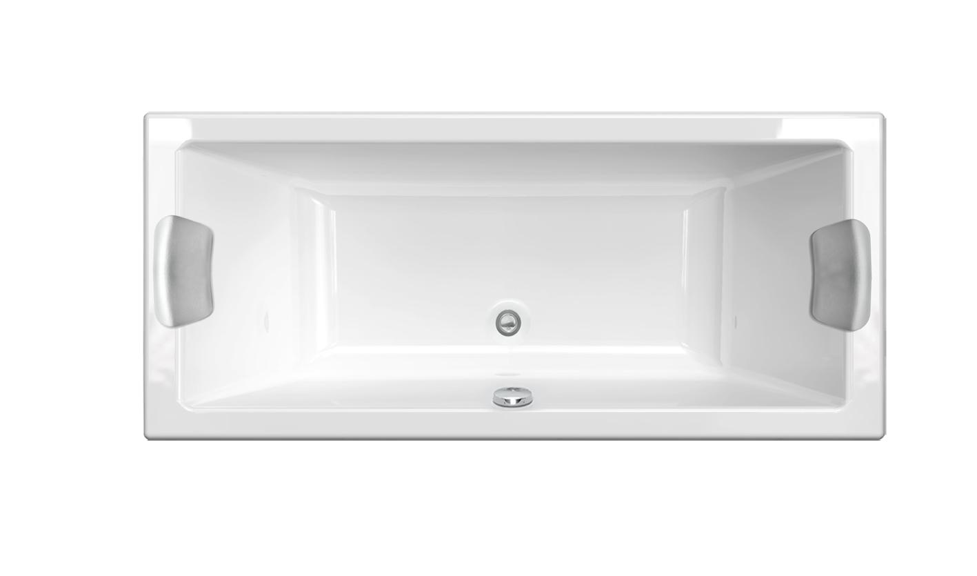 baignoire rectangulaire double dos quadra rectangulaire double dos aquarine pro. Black Bedroom Furniture Sets. Home Design Ideas