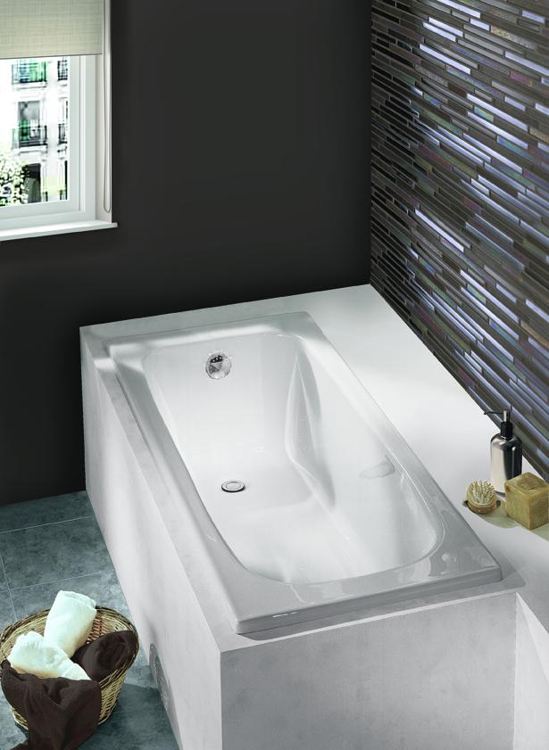 baignoire rectangulaire varia rectangulaire aquarine pro. Black Bedroom Furniture Sets. Home Design Ideas