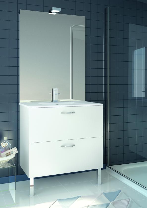 Meuble de salle de bain eko 39 line aquarine pro for Meuble salle de bain aquarine