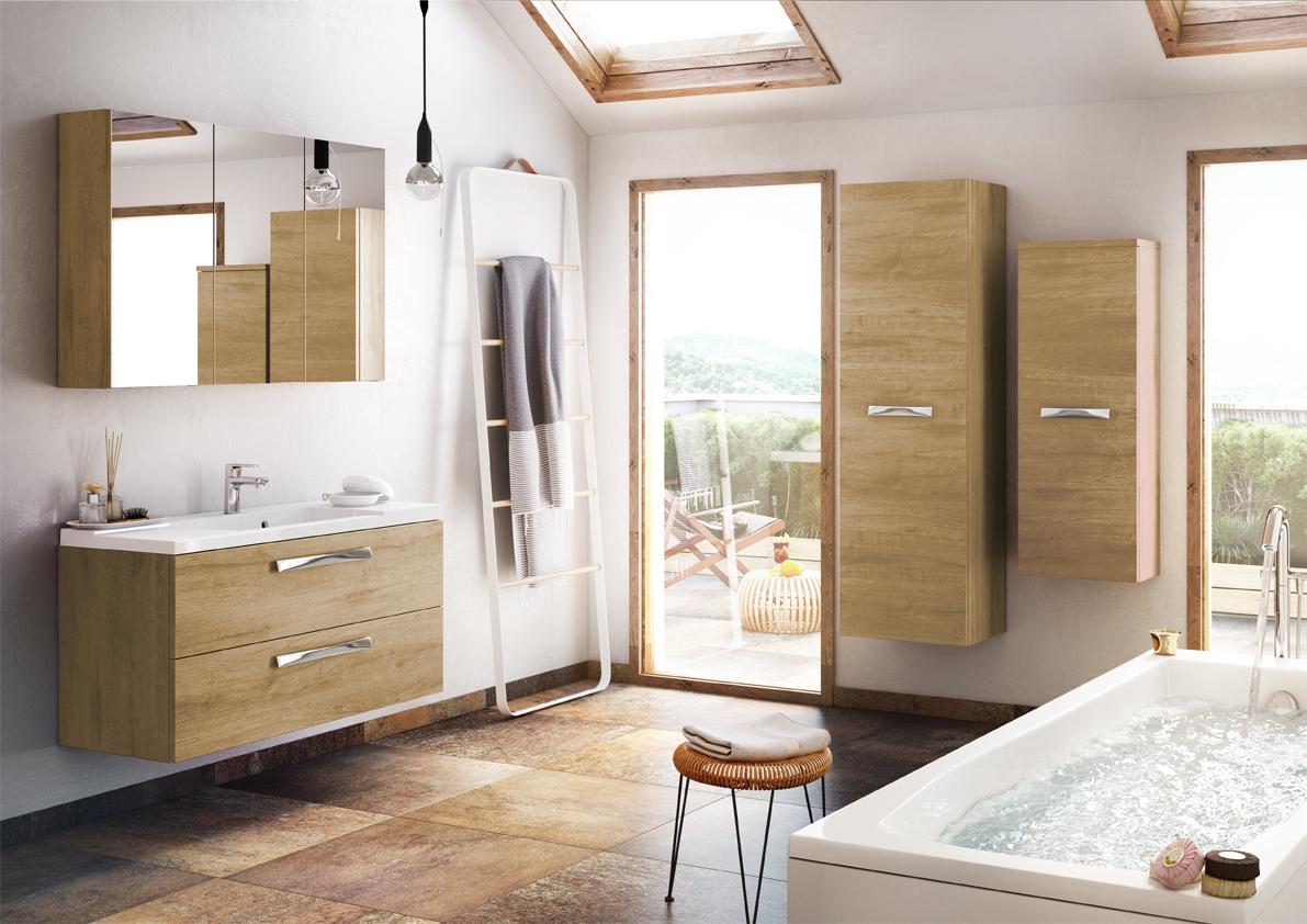 Meuble de salle de bain suspendre brooklyn a suspendre for Meuble sur toilette