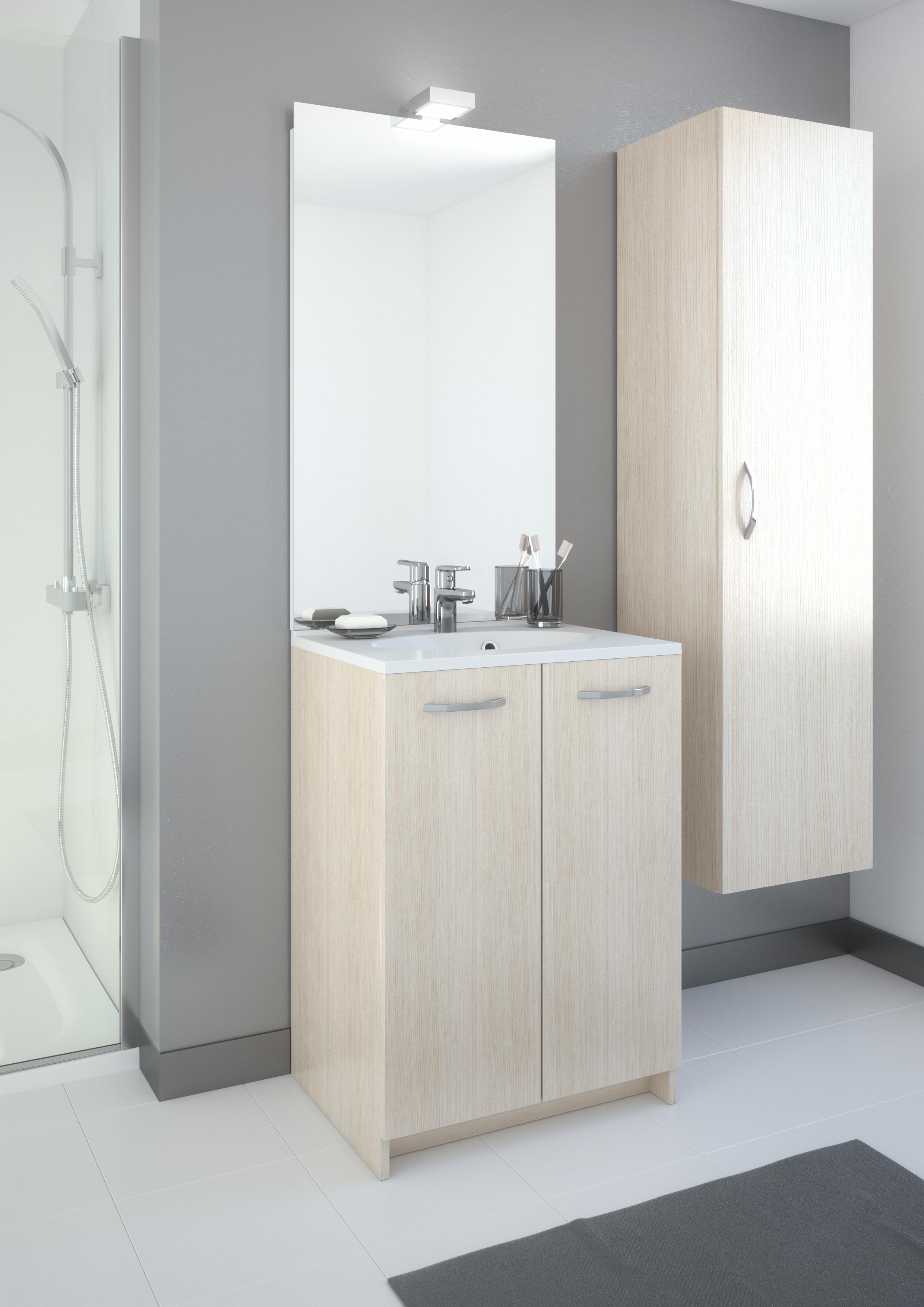Meuble de salle de bain eko 39 line a poser aquarine pro for Meuble salle de bain aquarine
