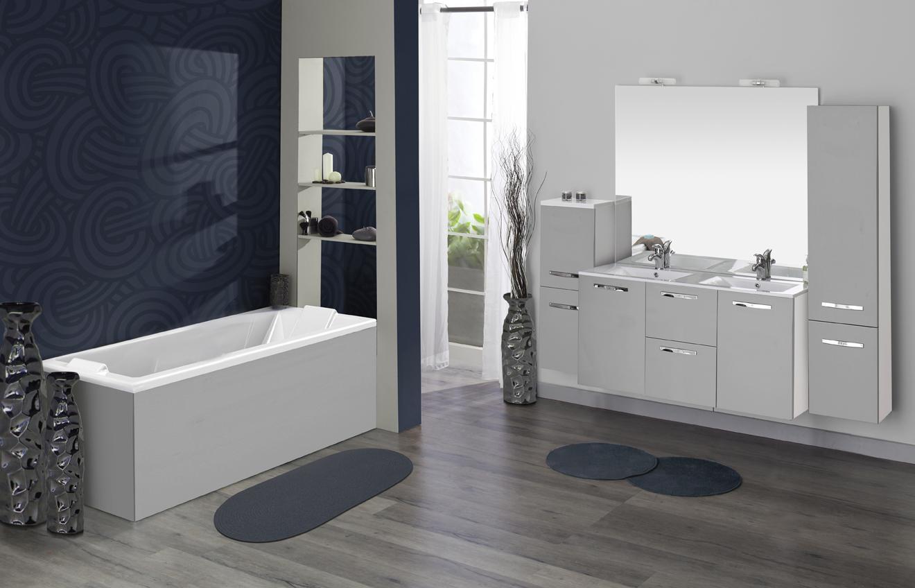 Meuble de salle de bain prefixe tiroirs aquarine pro for Meuble architectural
