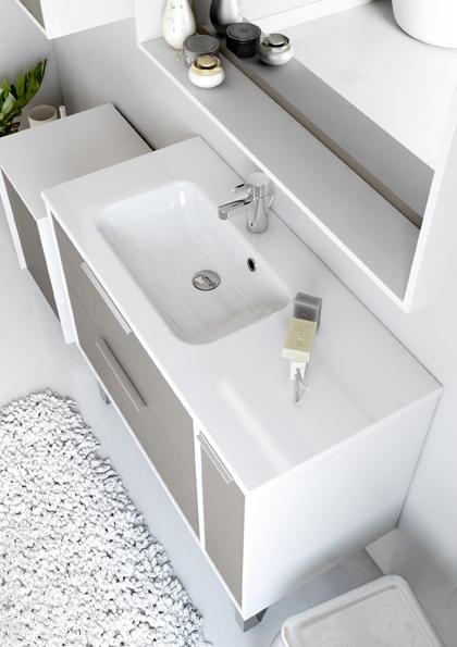 Meuble de salle de bain newport aquarine pro - Meuble salle de bain 120 cm simple vasque ...