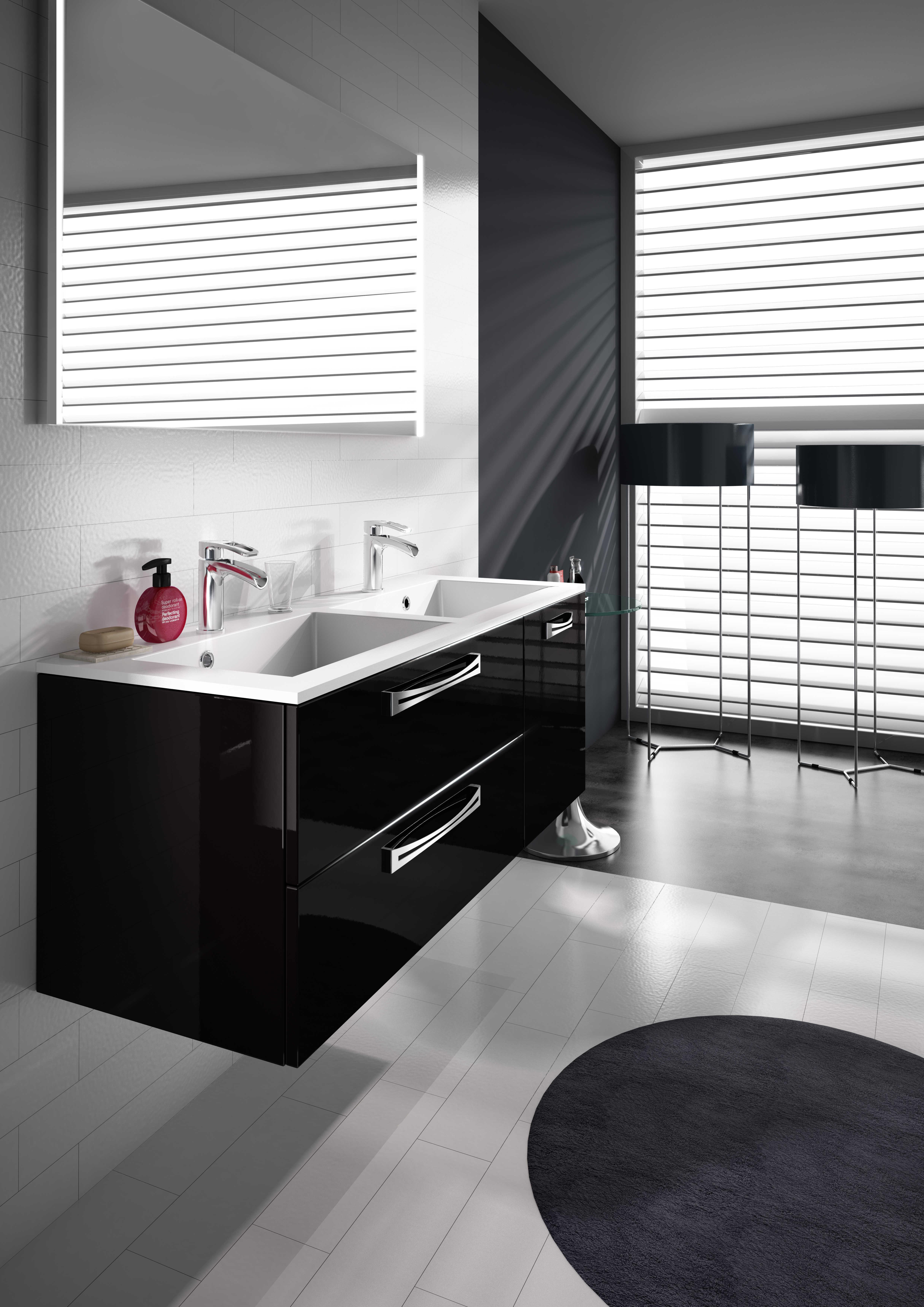 Cctp Miroir Salle De Bain ~ meuble de salle de bain suspendre brooklyn a suspendre