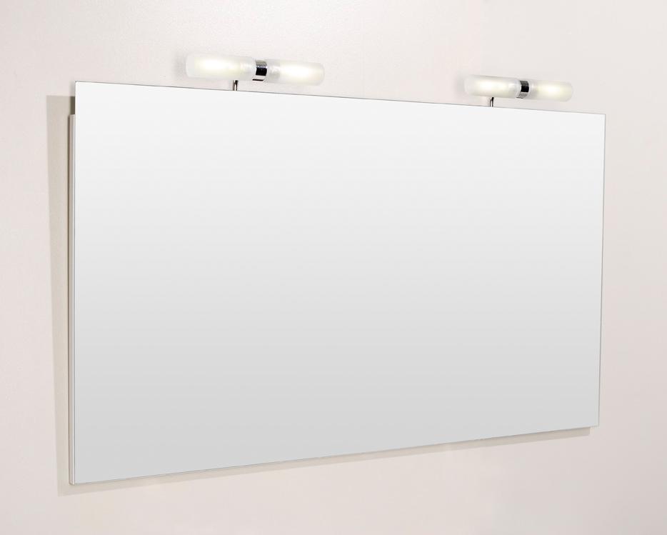 Meuble de salle de bain prefixe portes aquarine pro for Miroir salle de bain avec spot