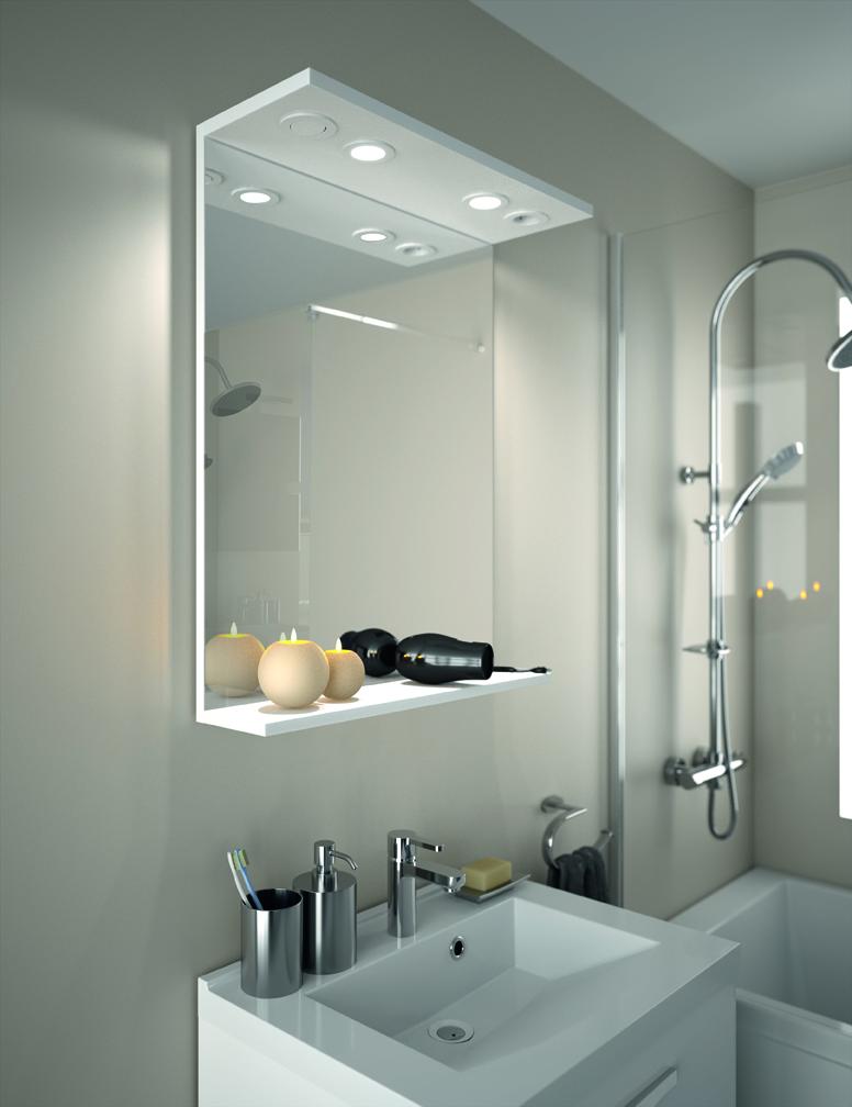 meuble de salle de bain - prefixe code tiroirs a poser | aquarine pro