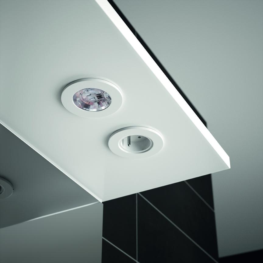Meuble de salle de bain prefixe code portes aquarine pro - Miroir salle de bain avec tablette et eclairage ...