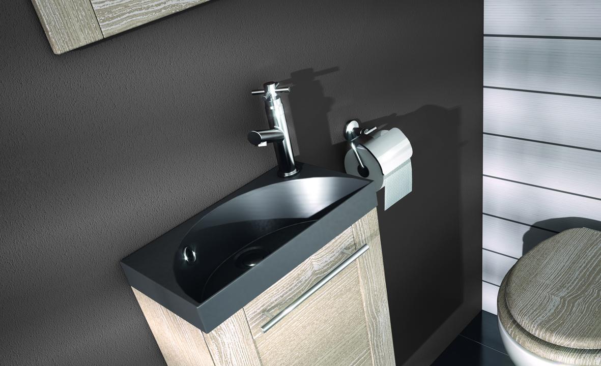 plan de toilette en solidsurface pour lave mains hello aquarine pro. Black Bedroom Furniture Sets. Home Design Ideas