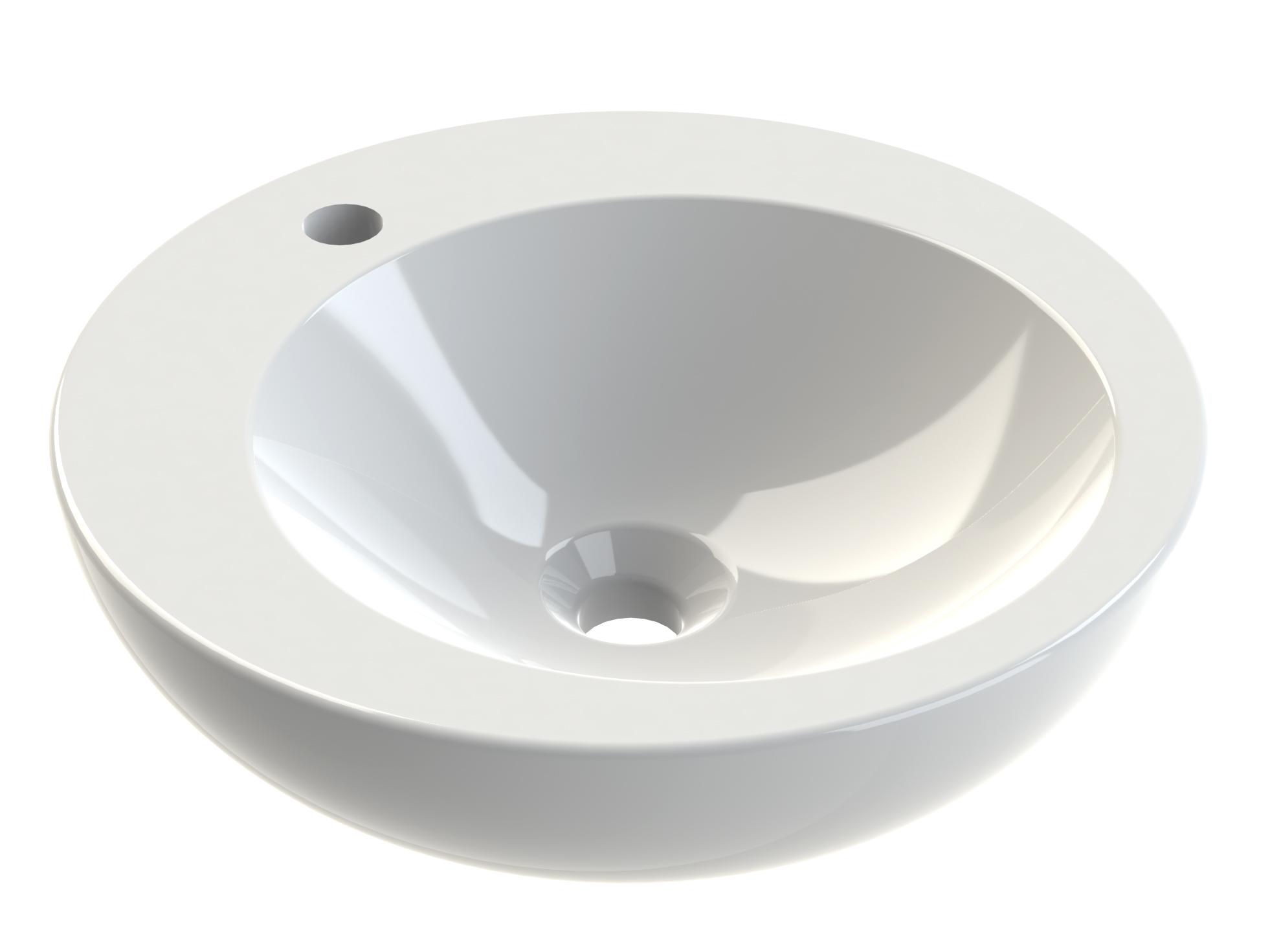 vasque poser en c ramique ronde vasque poser ronde aquarine pro. Black Bedroom Furniture Sets. Home Design Ideas