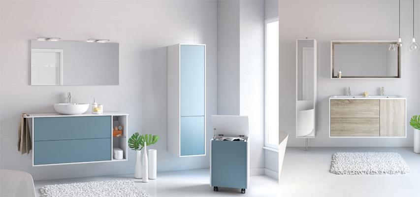 meuble salle de bain panier a linge integre maison design. Black Bedroom Furniture Sets. Home Design Ideas