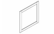 COVENTRY Miroir cadre 80 cm