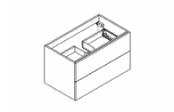 BROOKLYN A SUSPENDRE Meuble sous-plan de toilette 80 cm