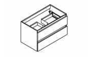 CONTRAST Meuble sous-plan de toilette 80 cm