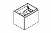 MINERAL Meuble sous-plan de toilette 60 cm