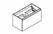 MINERAL Meuble sous-plan de toilette 90 cm