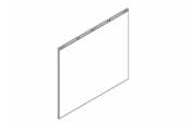 Lumibloc Miroir crédence 120 cm, rampe d'éclairage au choix.