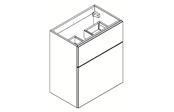 BROOKLYN Fit Line Meuble sous-plan de toilette 60 cm