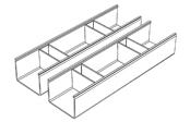 Aménagement de tiroir (le lot de 2)