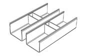 Aménagements tiroir Brooklyn Fit Line (le lot de 2)