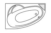 Système balnéo Gold+ - LADIVA DROITE + Tablier