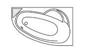 Système balnéo Gold+ - LADIVA GAUCHE + Tablier