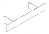PREFIXE CODE Socle sur-mesure de 80 à 105 cm