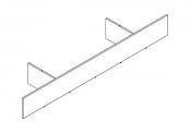 PREFIXE CODE Socle sur-mesure de 105 à 140 cm