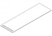Plan compact avec porte-serviettes intégré NEWPORT - 150 cm
