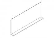 Miroir déco + tablette - 140 cm