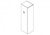 LUXI - Colonne aménagée droite 41,5 cm