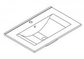Plan de toilette MAX - 70 cm