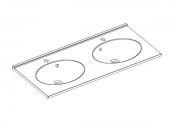 Plan de toilette CUP - 120 cm