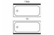 Novalu Pro tablier frontal L 180 cm