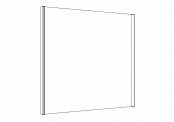 DUOLIGHT - Miroir éclairant 90 cm