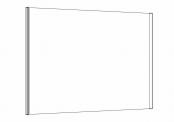 DUOLIGHT - Miroir éclairant 100 cm