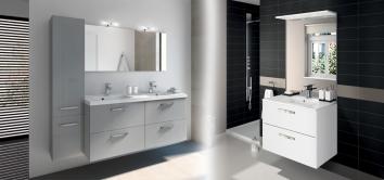 meuble salle de bain aquarine baroc