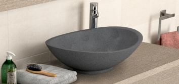 plans de toilette salle de bain vasques poser. Black Bedroom Furniture Sets. Home Design Ideas